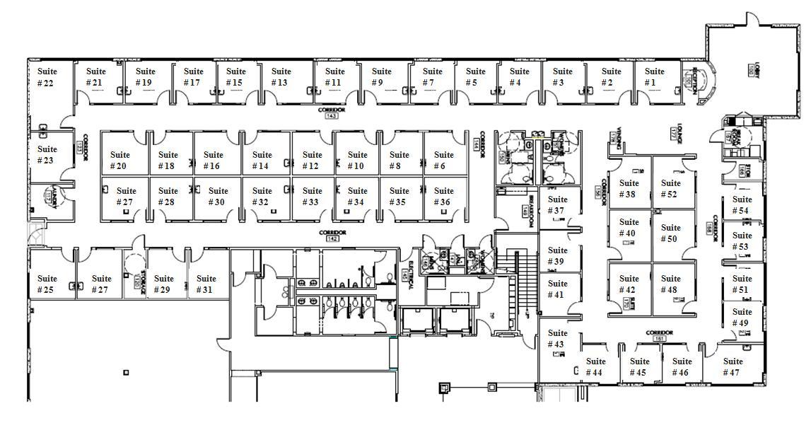 Nail Salon Floor Plan: OASIS